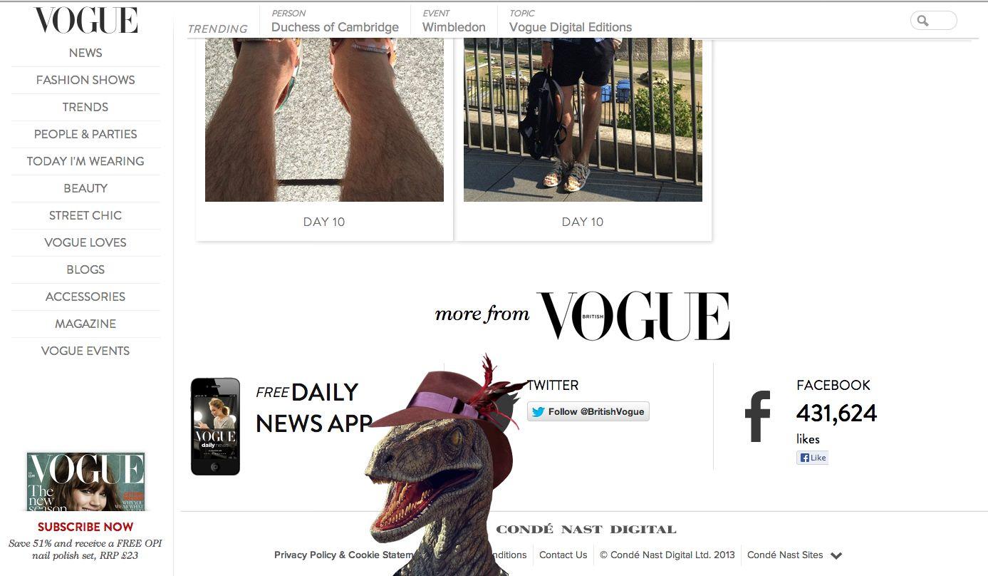 Vogue UK Easter Egg – Varietats