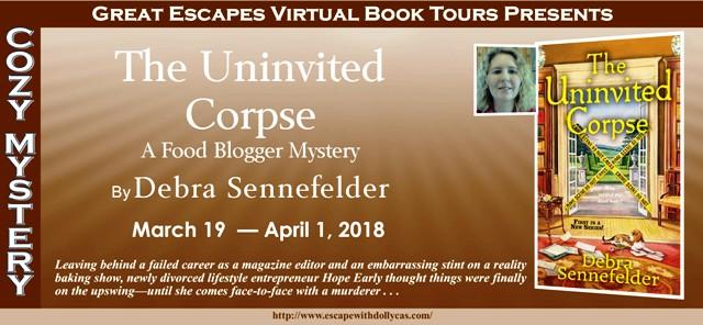 The Uninvited Corpse by Debra Sennefelder – Blog Tour +